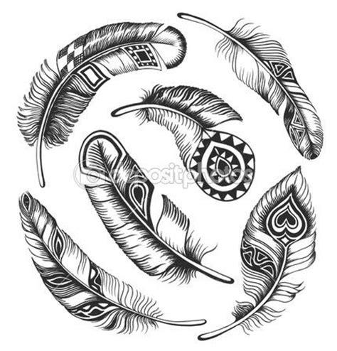 feather tattoo vector pi 243 rka na tatuaz tatuaże piercing pinterest