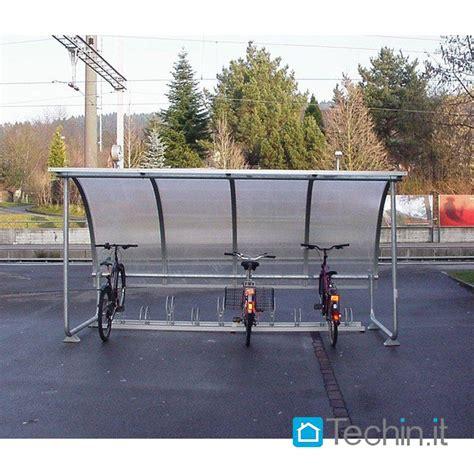 tettoia biciclette tettoia plexiglass moto cicli parcheggio biciclette moto