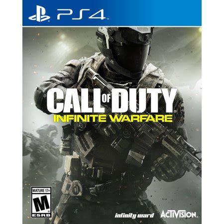 Kaset Bd Ps4 Call Of Duty Advance Warfare call of duty infinite warfare ps4 walmart