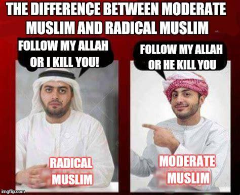 Radical Islam Meme - radical muslim x moderate muslim imgflip