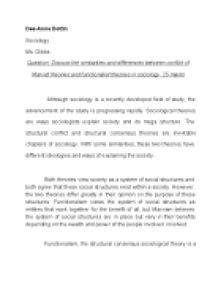 Marx Conflict Theory Essay by Marxist Conflict Theory Essay Dissertationsynonym X Fc2