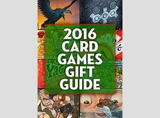 2016 Gift Guide: Card Games 2016 Xmas Gift Guide