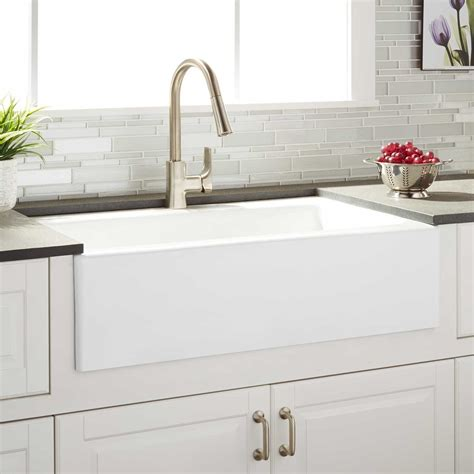 kohler farm sink 33 33 quot almeria cast iron farmhouse kitchen sink farmhouse
