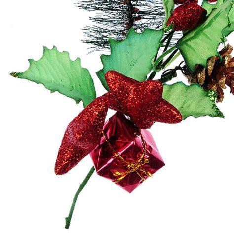 buy pentagram gift pinecone christmas tree decoration