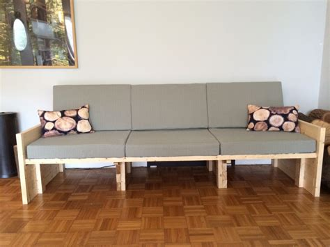 2x4 couch the 2x4 sofa