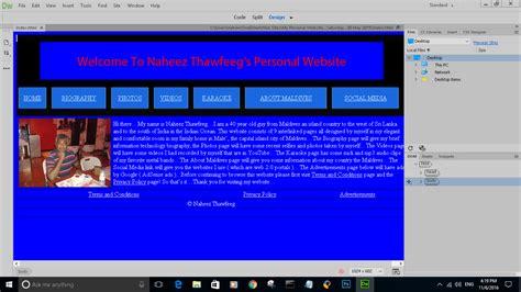 dreamweaver tutorial blog naheez s blog adobe dreamweaver cc 2017