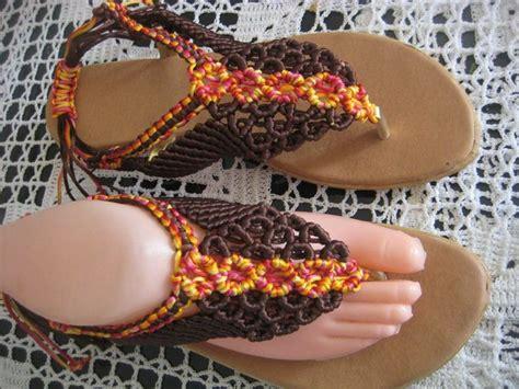 imagenes de sandalias egipcias sandalias en macrame dise 241 os personalizados sandalias