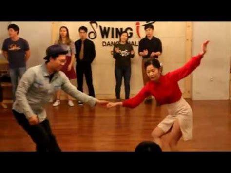 watch swing kids 20170108 instructor s jam swing kids daejeon youtube