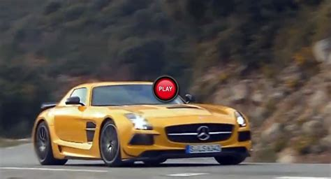 You Own A Car Not The Road Yellow mercedes sls black series has the paul ricard race