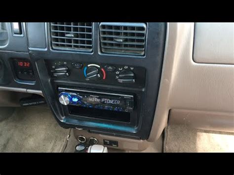 2004 Toyota Tacoma Radio 1998 2004 Toyota Tacoma Stereo Install Pioneer Deh