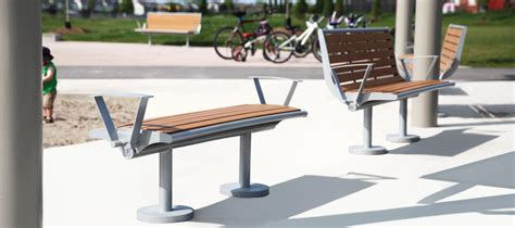 park bench made from recycled plastic backless recycled plastic park bench cab 870b canaan