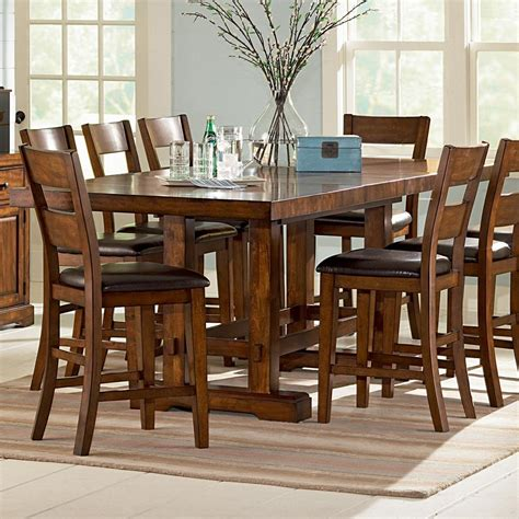 Becker Furniture Woodbury by Vendor 3985 Zappa Rectangular Counter Height Table