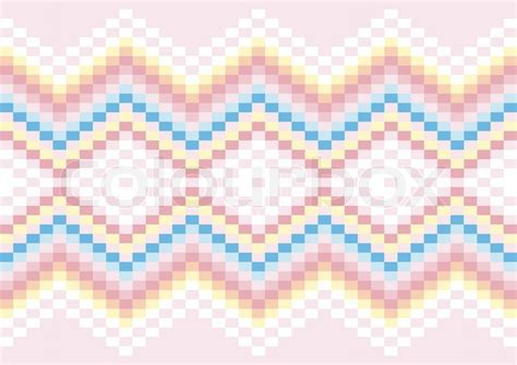 pattern color pastel bright geometric patterns in pastel colors stock vector