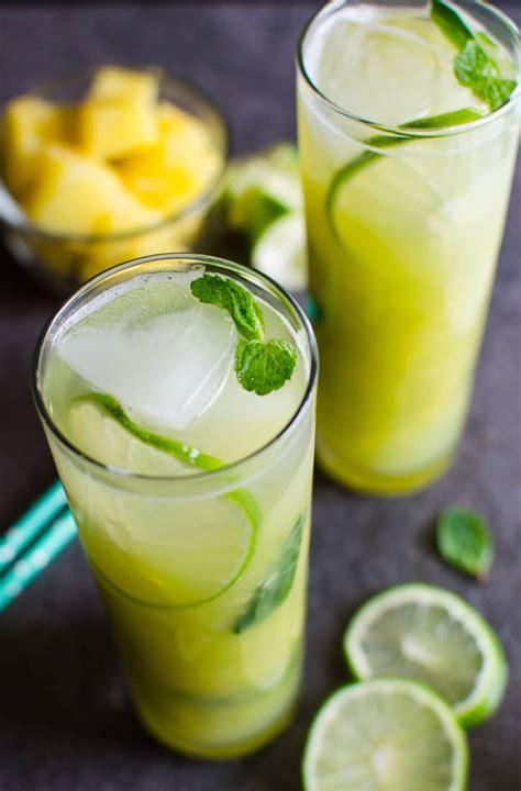 pineapple mojito recipe non alcoholic pineapple mojito watch what u eat
