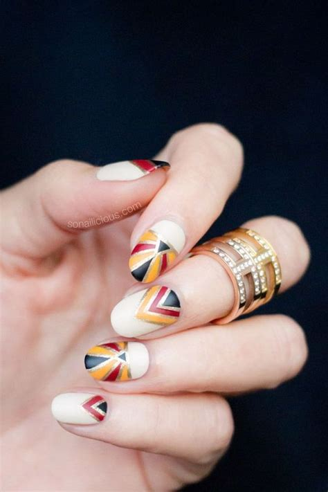 Nail Deco by Top 16 Fashion Nail Design For Fall Thanksgiving New