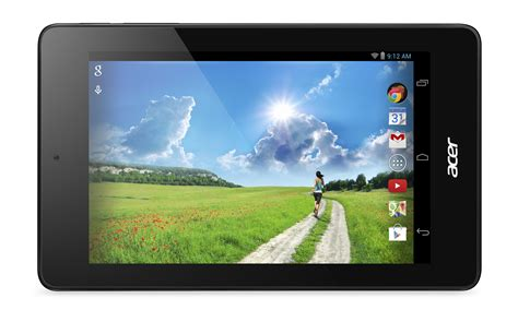 acer android tablet acer introduces new line of affordable 7 inch android tablets