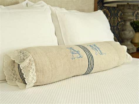 sew  bedroom bolster pillow hgtv