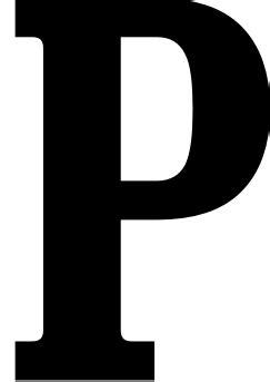 Letter P - Dr. Odd P