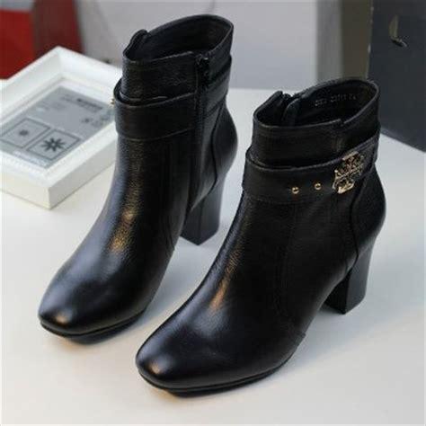 genuine leather black formal dress shoes for