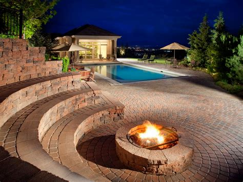 Outdoor Fire Pit Accessories Hgtv Images Of Firepits
