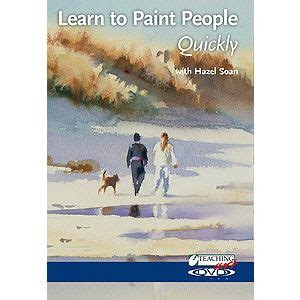 learn to paint people dvd learn to paint people quickly with hazel soan