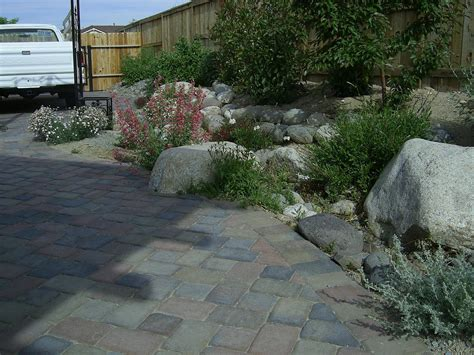 Cutting Patio Pavers Cutting Brick Pavers How We Do It Steve Snedeker S Landscaping And Gardening