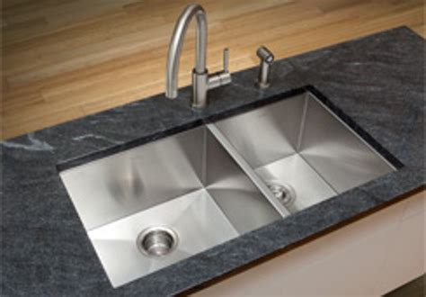 High End Kitchen Sinks Stainless Steel Kitchen Sink Reflects Luxurious Functionality With Geometrical High End Design