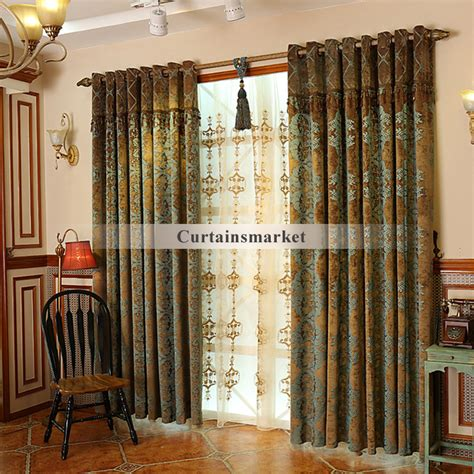 country style windows country style window curtains country style jacquard