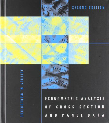 econometric analysis of cross section and panel data pdf econometric analysis of cross section and panel data mit