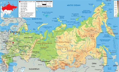 map of cities maps of russia detailed map of russia with cities and regions map of russia by region map