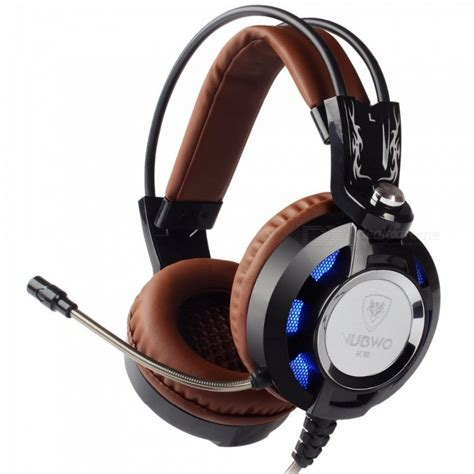 Keenion Gaming Headset K6 nubwo k6 stereo gaming headset gamer casque headphone w