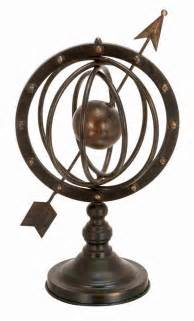 home decorative accessories 17 metal armillary sphere globe solar earth with arrow