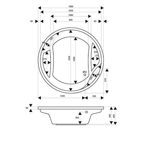 round bathtub size wondrous inspration round bathtub size home design ideas