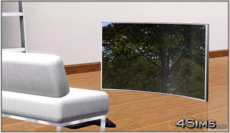 Curved OLED TV for Sims 3   4Sims