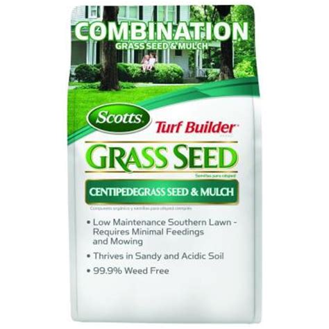 scotts 5 72 lb turf builder centipede grass seed and