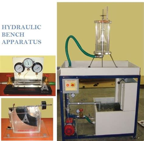 uses of hydraulic bench fluid mechanics lab instruments manufacturer supplier