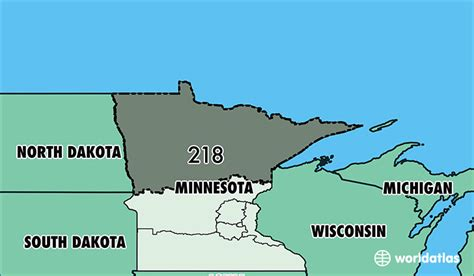 us area codes minnesota where is area code 218 map of area code 218 duluth mn