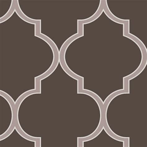 moroccan wallpaper peel and stick moroccan chocolate brown peel and stick fabric wallpaper