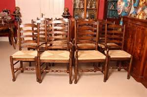 Bespoke Dining Room Furniture Bespoke Solid Oak Refectory Dining Table And Ten Chairs For Sale At 1stdibs