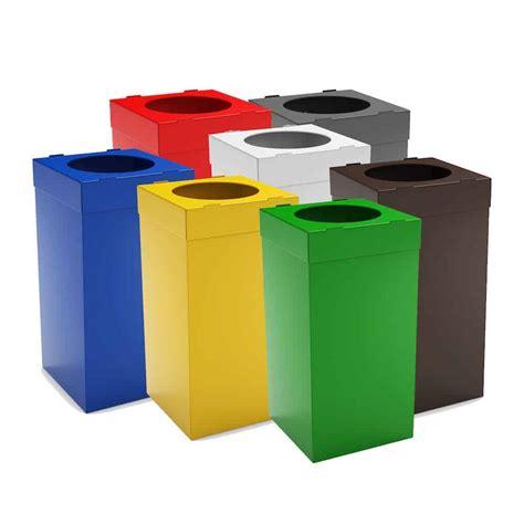 poubelles de bureau atlas poubelle tri s 233 lectif pour bureau 80 litres
