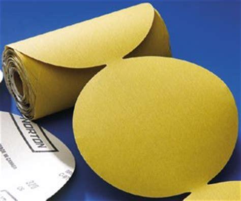 Norton Gold Sandpaper Discs Psa 6 Quot Da 100 400 Grit 49833
