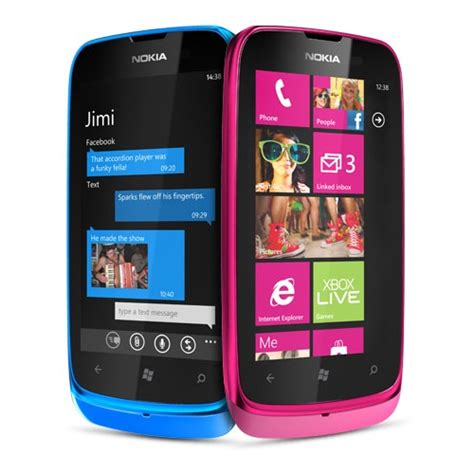 Nokia Lumia E610 mwc 2012 nokia lumia 610 goes official