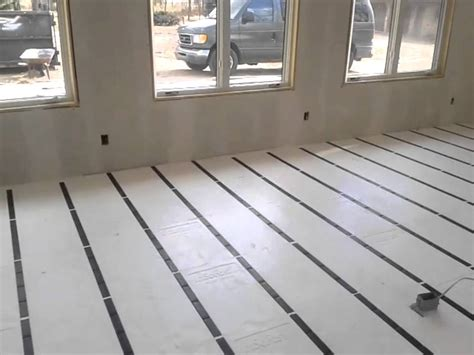 insulating floors over unheated garages buildipedia insulate a garage floor gallery