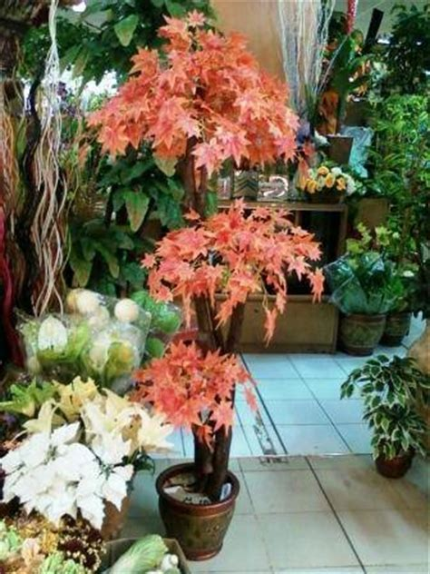 Paket Daun Bunga Plastik Daun Bunga Palsu Daun Bunga Hiasan 50 tanaman hias pohon hias the knownledge