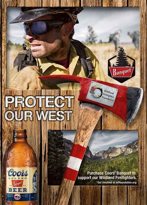 coors banquet continues to protect our west pow wildland
