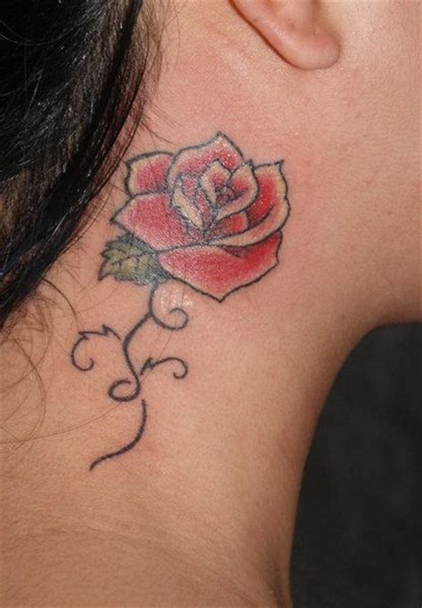 ruby rose tattoos neck neck tattoos and designs page 41