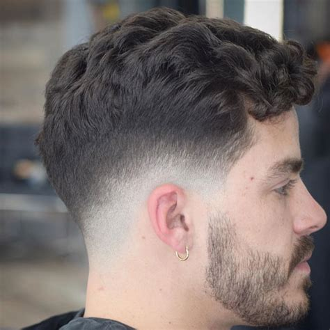 low neck short curly hair low fade haircut men s haircuts hairstyles 2018