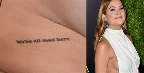 ashley benson tattoo pretty liars fashion