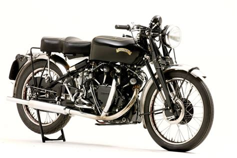 black motorbike historic vincent black shadow at auction motorcycle usa