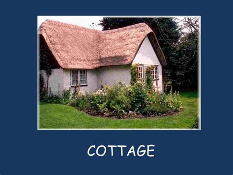 Cottage Name by Types Of Houses